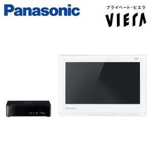パナソニック 10V型 ポータブル液晶テレビ プライベート・ビエラ 外付けHDD対応 防水 UN-10E6-W ホワイト|pc-akindo