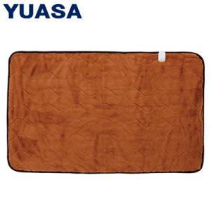 ユアサプライムス 電気毛布 プレミアムファー 敷毛布 130x80cm YCB-PF50V-D オレンジ|PCあきんど