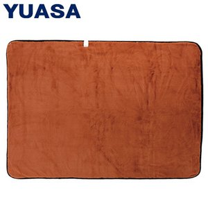 ユアサプライムス 電気毛布 プレミアムファー 掛敷毛布 190x130cm YCB-PF75V-D オレンジ|PCあきんど