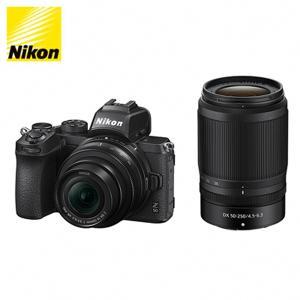 ニコン ミラーレス 一眼カメラ Z 50 ブラック ダブルズームキット Z50-WZ-BK