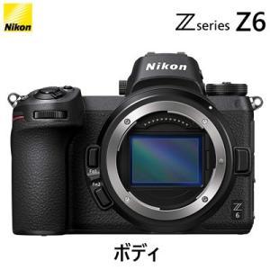 高感度性能にも優れたオールラウンドモデル。ニコンFXフォーマットミラーレスカメラ Z 6。ボディ。