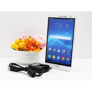 中古 SIMフリー Huawei ファーウェイ PLE-701L-WHITE ホワイト MediaP...