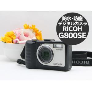 中古 防水・防塵・業務用デジタルカメラ RICOH G800SE リコー 1600万画素 Bluet...