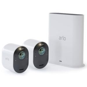 【在庫目安:お取り寄せ】 VMS5240-100APS Arlo Ultra 4K UHDワイヤレスセキュリティーシステム カメラ2台セット pc-express