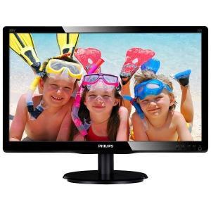 【在庫目安:あり】 PHILIPS 200V4QSBR/11 19.5型ワイド液晶ディスプレイ ブラック 5年間フル保証(フルHD/ DVI-D/ D-Sub)|pc-express
