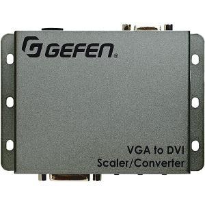 【在庫目安:お取り寄せ】 Gefen EXT-VGA-DVI-SC VGA to DVI変換機 (スケーラー内蔵)|pc-express