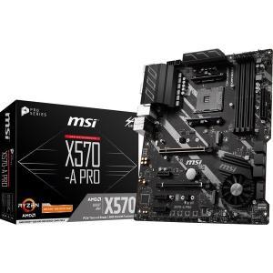 【在庫目安:お取り寄せ】 MSI X570-A PRO AMD X570 ATX ゲーミングマザーボ...