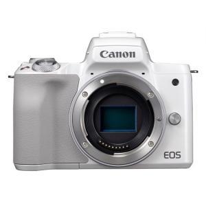 2683C001 Canon キヤノン ミラーレスカメラ EOS Kiss M ボディー ホワイト