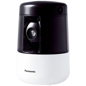 【在庫目安:お取り寄せ】Panasonic  KX-HDN205-K HDペットカメラ (ブラック)|pc-express