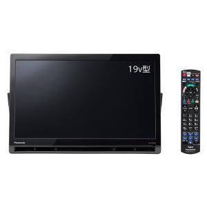 【在庫目安:僅少】 Panasonic UN-19FB10-K ポータブル地上・BS・110度CSデジタルテレビ 19V型 (ブラック)|pc-express