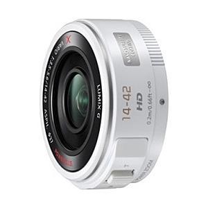 【在庫目安:お取り寄せ】Panasonic H-PS14042-W デジタル一眼カメラ用交換レンズ LUMIX G X VARIO PZ 14-42mm/ F3.5-5.6 ASPH./ POWER O.I.S. (ホワ…