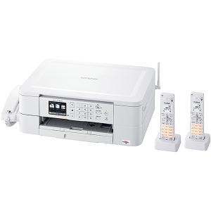 【在庫目安:あり】 ブラザー MFC-J738DWN A4インクジェット複合機/ FAX/ 受話器/ デジタル子機2台/ 無線LAN/ 手差しトレイ|pc-express