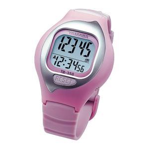 【在庫目安:お取り寄せ】山佐時計計器  TM-350P 万歩計 NEWとけい万歩 (ピンク)