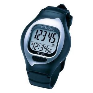 【在庫目安:お取り寄せ】山佐時計計器  TM-350B 万歩計 NEWとけい万歩 (ブラック)