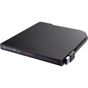 【在庫目安:あり】 バッファロー BRXL-PTV6U3-BKA USB3.2(Gen1)対応 ポータブルBDドライブ 書込みソフト添付 ブラック pc-express