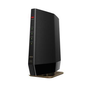 【在庫目安:あり】 バッファロー WSR-5400AX6/DMB 無線LAN親機 WiFiルーター 11ax/ ac/ n/ a/ g/ b 4803+574Mbps WiFi6/ Ipv6対応 マットブラック pc-express