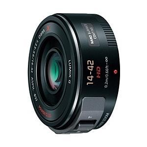 【在庫目安:お取り寄せ】Panasonic H-PS14042-K デジタル一眼カメラ用交換レンズ LUMIX G X VARIO PZ 14-42mm/ F3.5-5.6 ASPH./ POWER O.I.S. (ブラ…