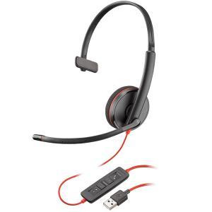 【在庫目安:あり】 PLANTRONICS PPBKW-C3210UA USBヘッドセット Blackwire C3210 USB-A 209744-201|pc-express