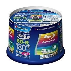 【在庫目安:あり】 三菱ケミカルメディア VBR130RP50V4 BD-R 録画用 130分 1-...