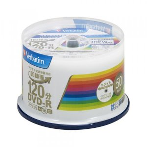 三菱化学メディア Verbatim VHR12JP50V4 DVD-R 4.7GB 1-16倍速 録画用 50枚Sプリンタブル CPRM|パソコン工房 PayPayモール店