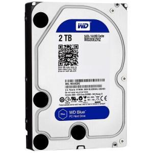 [台数限定] [抽選会参加可能 3/31まで]Western Digital WD20EZRZ-RT [2TB/3.5インチ内蔵ハードディスク] WD Blueシリーズ / SATA 6Gb/s接続