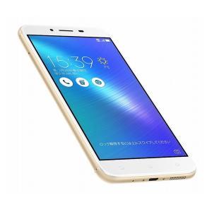 ASUS ZC553KL-GD32S3 ZenFone 3 Max ゴールド 1日しっかり使える5.5型SIMフリースマートフォン|pc-koubou