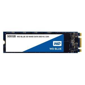 Western Digital WDS500G2B0B [500GB/SSD] WD Blue SATAIII接続 / M.2 2280 64層3D NAND