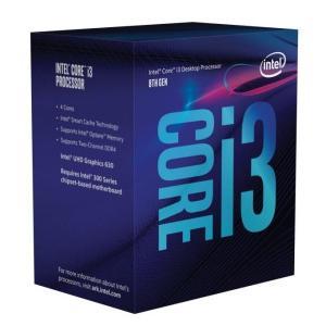Intel Core i3 8100 (BX80684I38100) Coffee Lake (3.60GHz/4Core/4Thread/リテールBOX) LGA1151