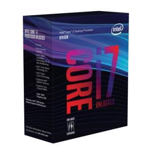 [新製品] Intel Core i7-8700K (BX80684I78700K) Coffee Lake (3.70-4.70GHz/6Core/12Thread/リテールBOX) LGA1151|pc-koubou