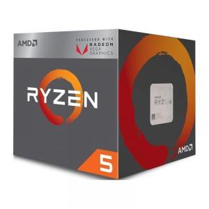 新製品 AMD Ryzen 5 2400G (YD2400C5FBBOX) Raven Ridge APU (3.6GHz/L2=2MB/AM4/4C8T/65W)Radeon RX Vega内蔵