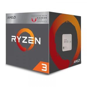 新製品 AMD Ryzen 3 2200G (YD2200C5FBBOX) Raven Ridge APU (3.5GHz/L2=2MB/AM4/4C4T/65W)Radeon RX Vega内蔵