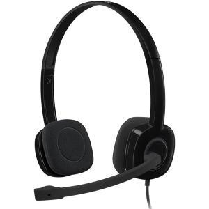 ロジクール H151R Stereo Headset ステレオ ヘッドセット ベーシックモデル