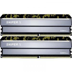 G.Skill F4-3200C16D-32GSXKB  DDR4 PC4-25600 16GB 2枚組 デスクトップ用メモリ Sniper X シリーズ Digital Camo