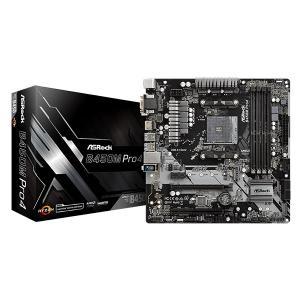 ASRock B450M Pro4 [MicroATX/AM4/B450] AMD B450チップセ...