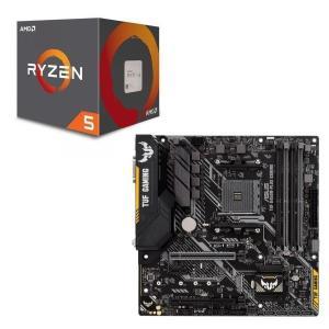 [パーツセット] AMD Ryzen 5 2600 + ASUS TUF B450M-PLUS GA...