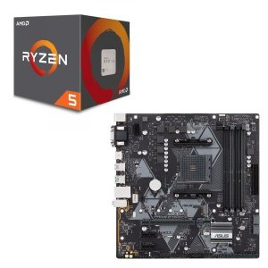 [パーツセット] AMD Ryzen 5 2600 + ASUS PRIME B450M-A セット