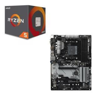 [パーツセット] AMD Ryzen 5 2600 + ASRock B450 Pro4 セット