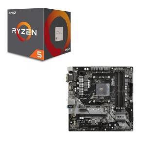 [パーツセット] AMD Ryzen 5 2600 + ASRock B450M Pro4 セット
