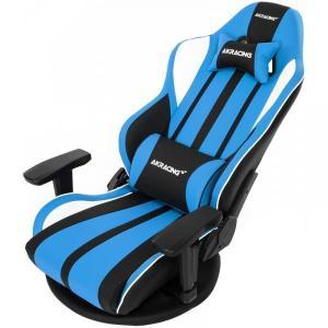 AKRacing 極坐 V2 Gaming Floor Chair(Blue) GYOKUZA/V2...