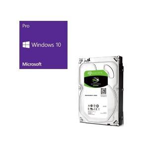 セット商品 Windows 10 Pro 64Bit DSP + SEAGATE ST8000DM0...