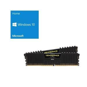 セット商品 Windows 10 Home 64Bit DSP + Corsair CMK16GX4...