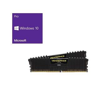 セット商品 Windows 10 Pro 64Bit DSP + Corsair CMK16GX4M...