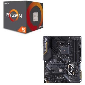 [パーツセット] AMD Ryzen 5 2600 + ASUS TUF B450-PRO GAMI...