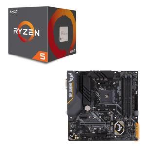 [パーツセット] AMD Ryzen 5 2600 + ASUS TUF B450M-PRO GAM...