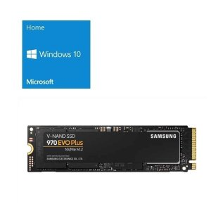 [OS+500GB SSDセット]Windows 10 Home 64Bit DSP + SAMSU...