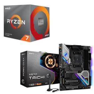 [パーツセット]AMD Ryzen 7 3800X BOX + ASRock X570 Taichi...