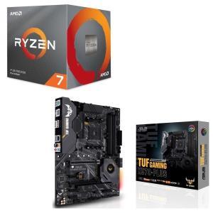 [パーツセット]AMD Ryzen 7 3700X BOX + ASUS TUF GAMING X5...