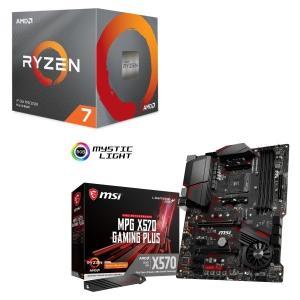 [パーツセット]AMD Ryzen 7 3700X BOX + MSI MPG X570 GAMING PLUS セット