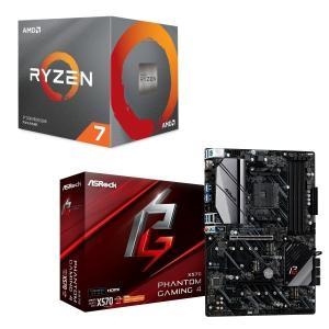 [パーツセット]AMD Ryzen 7 3700X BOX + ASRock X570 Phanto...