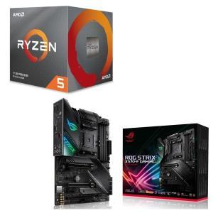 [パーツセット]AMD Ryzen 5 3600X BOX + ASUS ROG STRIX X57...